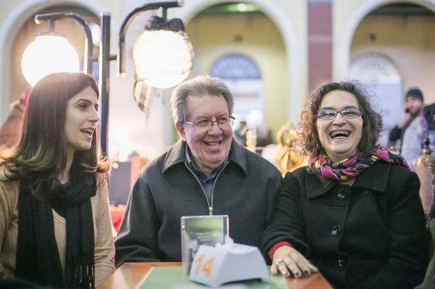 27/07/2016 - PORTO ALEGRE, RS - Raul Pont e Silvana Conti, PT e PCdoB, confirmam no Mercado Público aliança para eleições à prefeitura. Foto: Guilherme Santos/Sul21